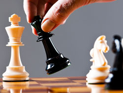 Brokering opportunities - playing chess